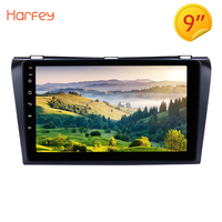 Harfey Car Radio For 2004 2005 2006 2007 2008 2009 Mazda 3 2din Android 8.1 9 Inch Bluetooth GPS Navigation Multimedia Player