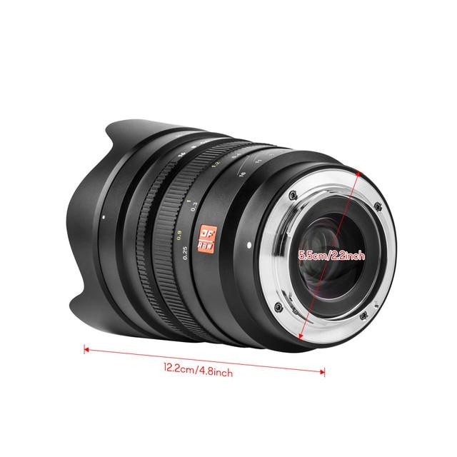 Sony E Mount Full Frame Lenses >> Viltrox Full Frame Wide Angle Prime Lens Fe 20mm F1 8 E Mount Mf For
