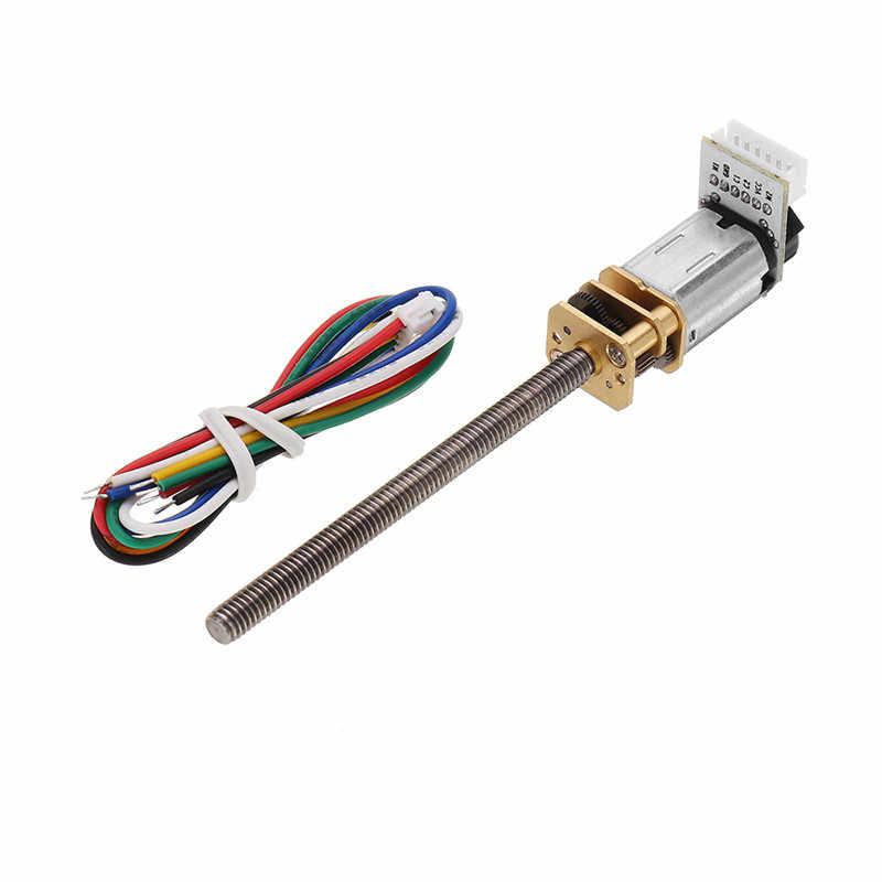 1 Pcs CHF-GM12-N20VA DC 12 V 710 rpm เกียร์มอเตอร์ Thread Shaft DC Motor Deceleration มอเตอร์แม่เหล็กถาวรคุณภาพสูง