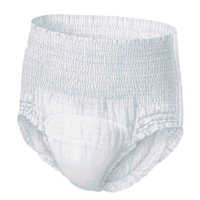 20pcs Adult Diaper Unisex Disposable Clean Incontinence Underwear Diaper for The Elderly Women
