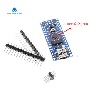Image 1 - 1 adet Mini USB bootloader Nano 3.0 denetleyicisi ile uyumlu arduino için CH340 USB sürücü 16Mhz NANO V3.0 Atmega328 iyi