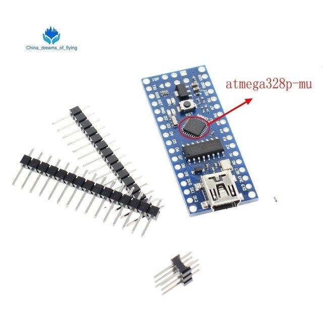 1 adet Mini USB bootloader Nano 3.0 denetleyicisi ile uyumlu arduino için CH340 USB sürücü 16Mhz NANO V3.0 Atmega328 iyi