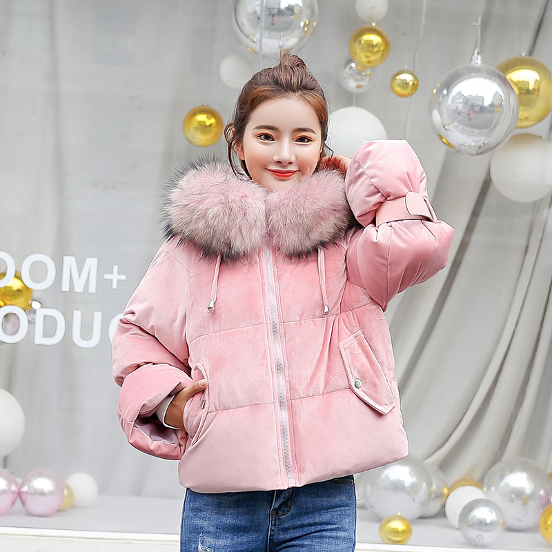Winter Jacket Women 2018 New Thickening Warm Short Outerwear   Parkas   Female Cotton Padded Loose Coats Hooded winter Coat S931