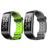 Q8 0.96 inch Bluetooth IP68 Waterproof Heart Rate Monitor Smart Bracelet