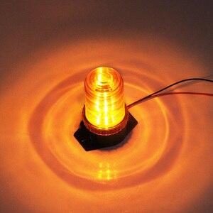 Image 5 - Bogrand ביקון אזהרת אור גמיש Led מהבהב משואה עבור רכב אמבר מגדלור Strobe 24 v אזהרת אור תנועה