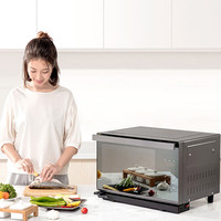 2100W 28L Home Breakfast Machine Coffee Maker Frying Pan Bread Toaster Electric oven Bread baking machine Steaming Machine