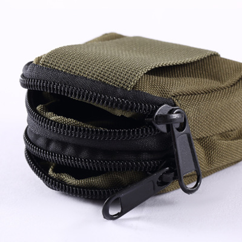 Tactical Bag Mini Waist Bag Military Equipment Molle Pouch Practical Key Coin Case
