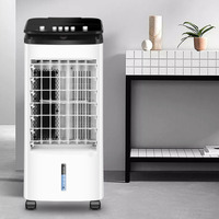 Fan Refrigeration Small sized Household Mute Dormitory Air Conditioning Fans Single Cold Move Small Air Conditioner Cold Fan