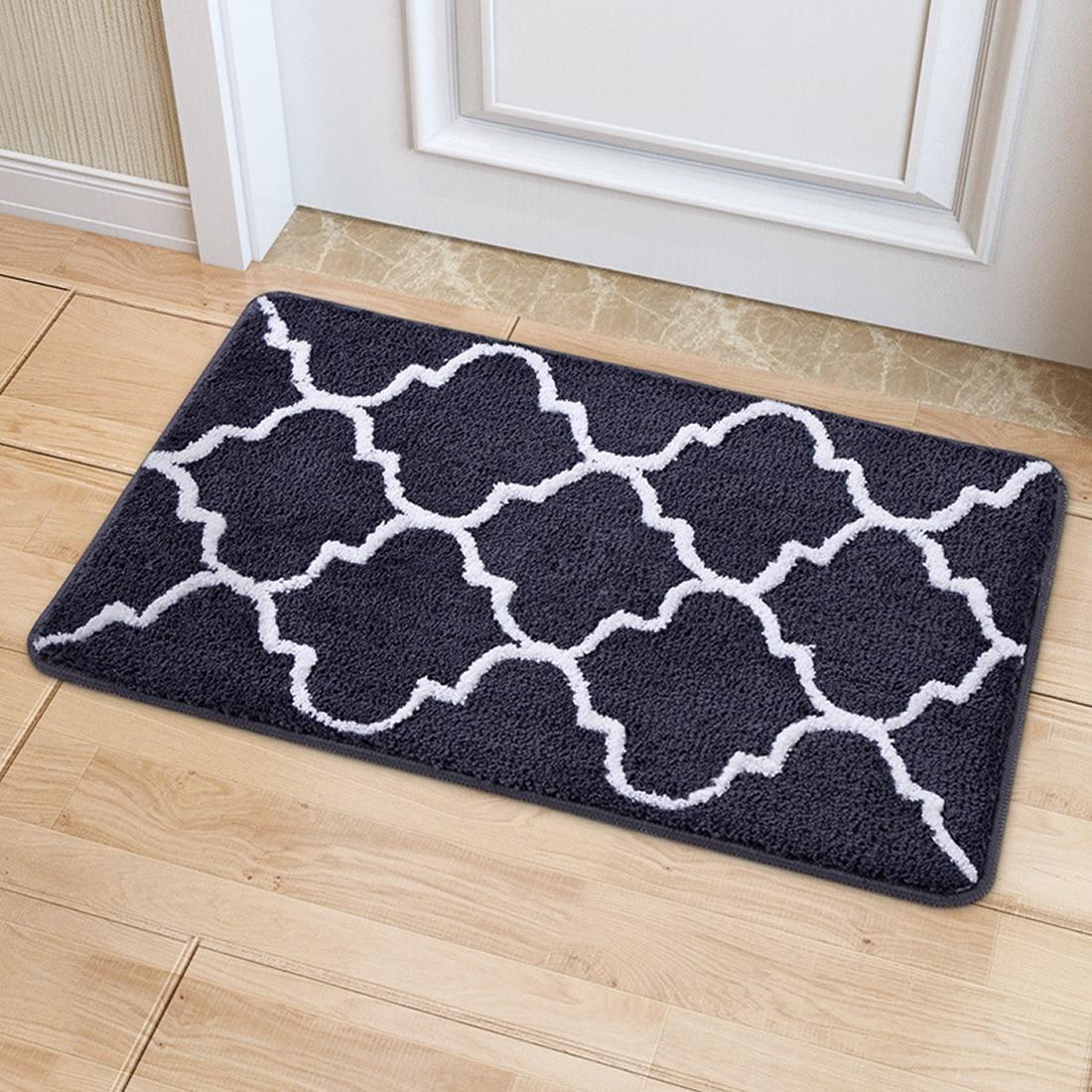 Geometric Figure Carpet Area Rug For Bedroom Living Room Carpet Kitchen Baths Mat Door Mat Anti-Slip Home Decoration