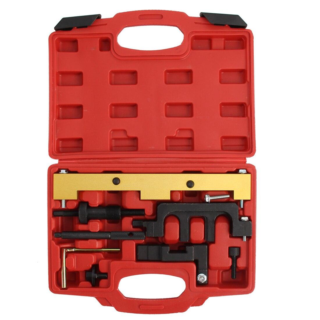 WSFS Kit d'outils de verrouillage de moteur à essence à réglage de calage à chaud pour BM W N42 N46 N46T Kit d'outils de réglage de calage de moteur professionnel
