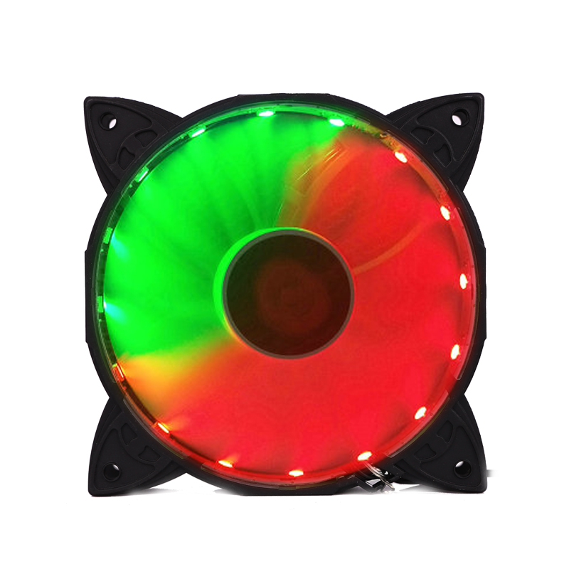 Image 5 - COOLMOON Computer Case PC Cooling Fan RGB Adjust LED 120mm Quiet    IR Remote For cpu(6pcs)Fans