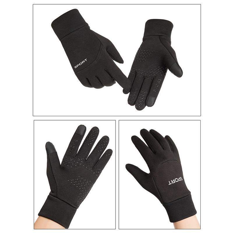 2018 New Winter Sports Outdoor Warm Gloves Unisex Cycling Fo