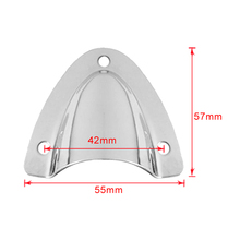 Marine Grade 316 Stainless Steel Large Clam Shell Ventilator Wire Cable Vent Cover For Cables/Wire стоимость