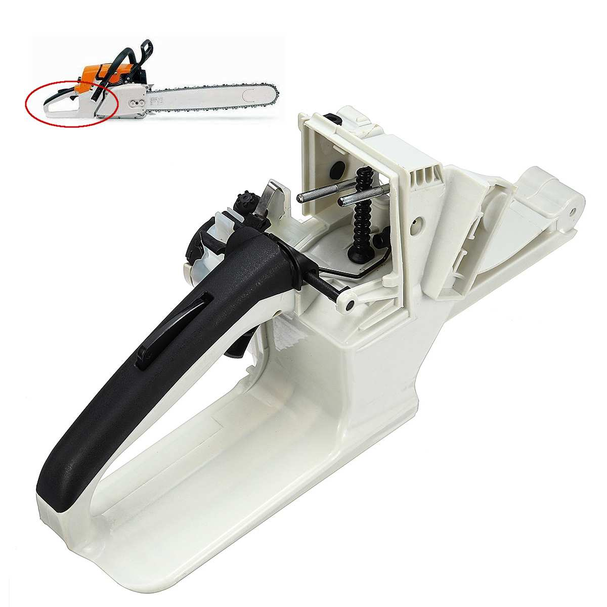 Gas Fuel Tank Rear Handle For Stihl Ms260 Ms240 026 024