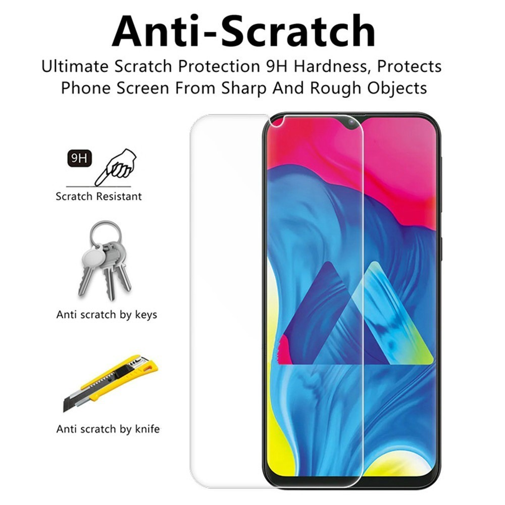 Premium Tempered Glass For Samsung Galaxy A 10 20 30 40 50 60 70 90 M 10 20 A80 A90 A7 A750 Screen Protector Protective Film in Phone Screen Protectors from Cellphones Telecommunications