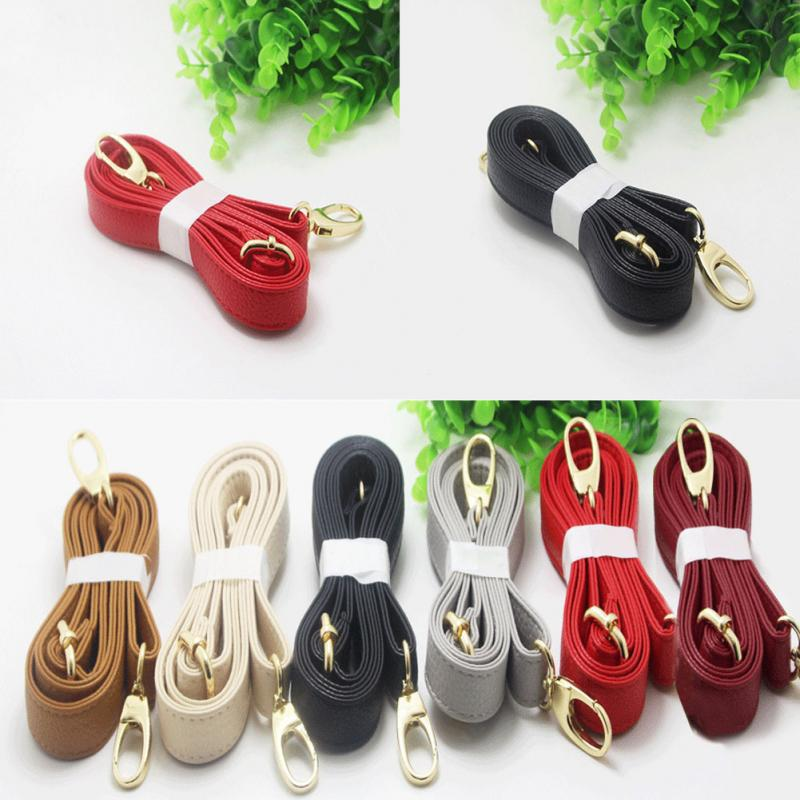 140cm Long New PU Leather Handbags Belt Strap Bag Accessory Shoulder Bag Handle DIY Purse Strap 6 Color Available PU Leather #20