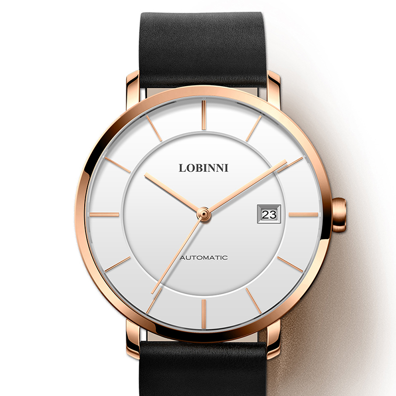 Luxury Brand LOBINNI Watch Men Japan MIYOTA 9015 Automatic Mechanical Movement Men's Watches Sapphire Waterproof Clock L5016-3