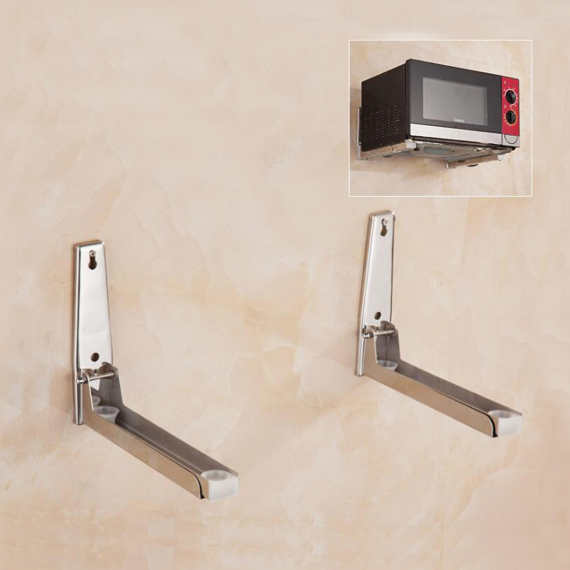 Permalink to 304 Stainless Steel Material Nail Wall Mounted Kitchen Racks