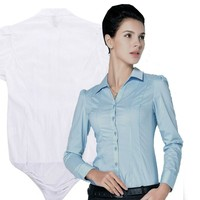 New Blusas Office Lady Blouse Body Shirt Women Tops With Underpants Casual Long Sleeve Slim Woman Work Bodysuits Elegant Clothes