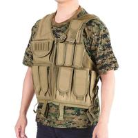 Portable Multifunction Outdoor Clothing Shoulder reinforcement Hunting Vest 800D Oxford Fabric Adjustable Molle Equipment