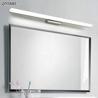 led mirror light stainless steel AC85 265V Modern Wall lamp bathroom lights 40cm 60cm 80cm 100cm 120cm wall sconces apliques