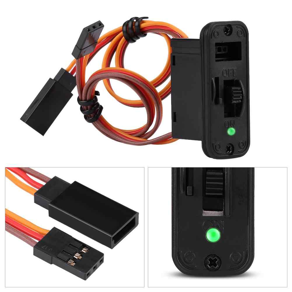 RC Switch Connettori 1Pc Heavy Duty RC Interruttore Con LED Display JR RC On Off Connettori Accessorio Per Il Ricevitore RC Accessori