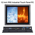12 Inch IP65 Industrial Touch Panel PC,10 Points Capacitive TS,All in One Computer,Windows 7/10,Linux,Intel Core I5,[HUNSN DA14]