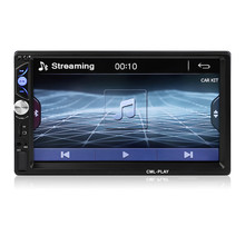 2 DIN CAR RADIO 7 INCH MP5 PLAYER BLUETOOTH HANDS FREE FM/TF/USB MULTIMEDIA