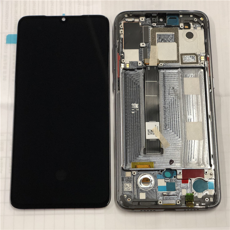 "Original Axisinternational 6.39"" For Xiaomi MI9 MI 9 LCD Display Screen With Frame+Touch Panel Digitizer For Mi 9 Mi9 AMOLED"