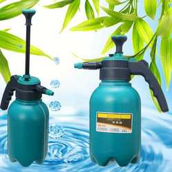 Portable Chemical Sprayer Pump Hand Pressure Trigger Sprayer Bottle Adjustable Copper Nozzle Air Compression Pump Spray 2.0L