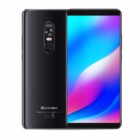 Blackview Max 1 Smartphone 6gb+64gb 6.01 Screen 4680mah Mt6763t Octa Core Android 8.1 Dual Sim Mobile Phone Nfc Mini Projector
