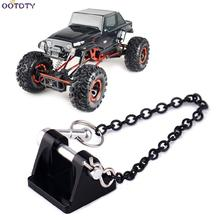 1:10 RC Rock Crawler Metal Tow Shackle Trailer Hook for Axial SCX10 90046 TAMIYA CC01 RC4WD D90 D110 TF2 Crawler Truck 4pcs 1 10 rc rock crawler 2 2 rubber tyre wheel tires for axial scx10 tamiya cc01 rc4wd d90 rc climbing car parts