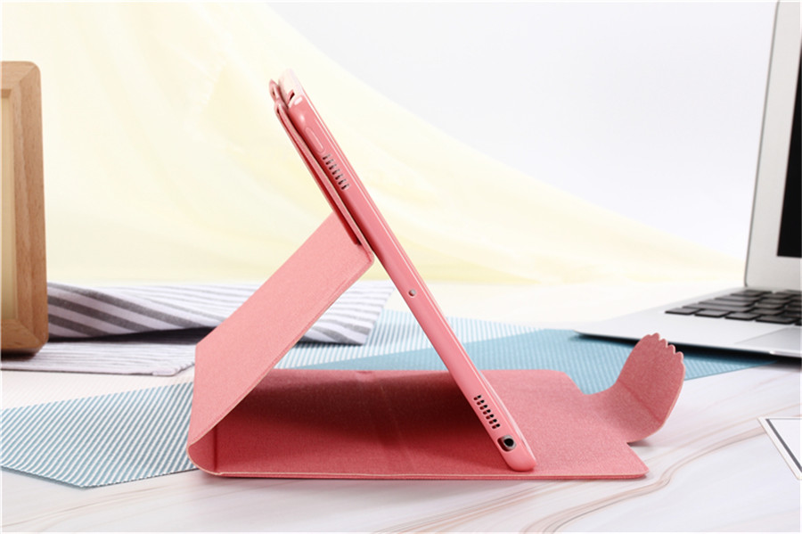 PU Leather Skin for iPad 6th Generation A1954 cases Hand Hold for ipad Air 1 iPad 9 7 2017 2018 Card Slots Pocket Glass Stylus in Tablets e Books Case from Computer Office