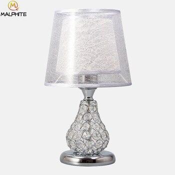 Moderne Led Kristall Schreibtisch Lampen Lustre Tisch Lampen Lesen Studie Licht Schlafzimmer Nachttisch Lampen Home Deco Beleuchtung Luminaria