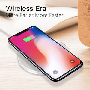 Image 3 - Portable Charger Adapter Crystal K9 Phone Wireless Quickly Unlimited Charging Pad Safe Automatic Power off Devices For Iphone
