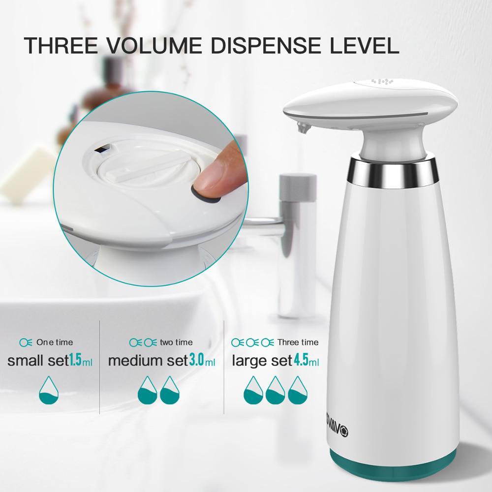 350ml Automatic Soap Dispenser Hand Free Touchless Sanitizer Bathroom Dispenser Smart Sensor Liquid Soap Dispenser for 350ml Automatic Soap Dispenser Hand Free Touchless Sanitizer Bathroom Dispenser Smart Sensor Liquid Soap Dispenser for Kitchen