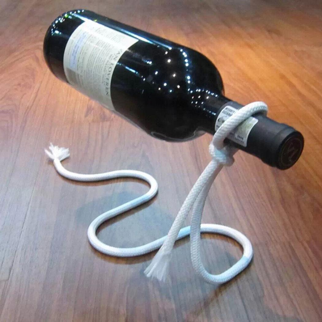Многофункциональный металлический одна бутылка вина Дисплей стойки Кухня, столовая, погреб, подставка для вина держатель полки