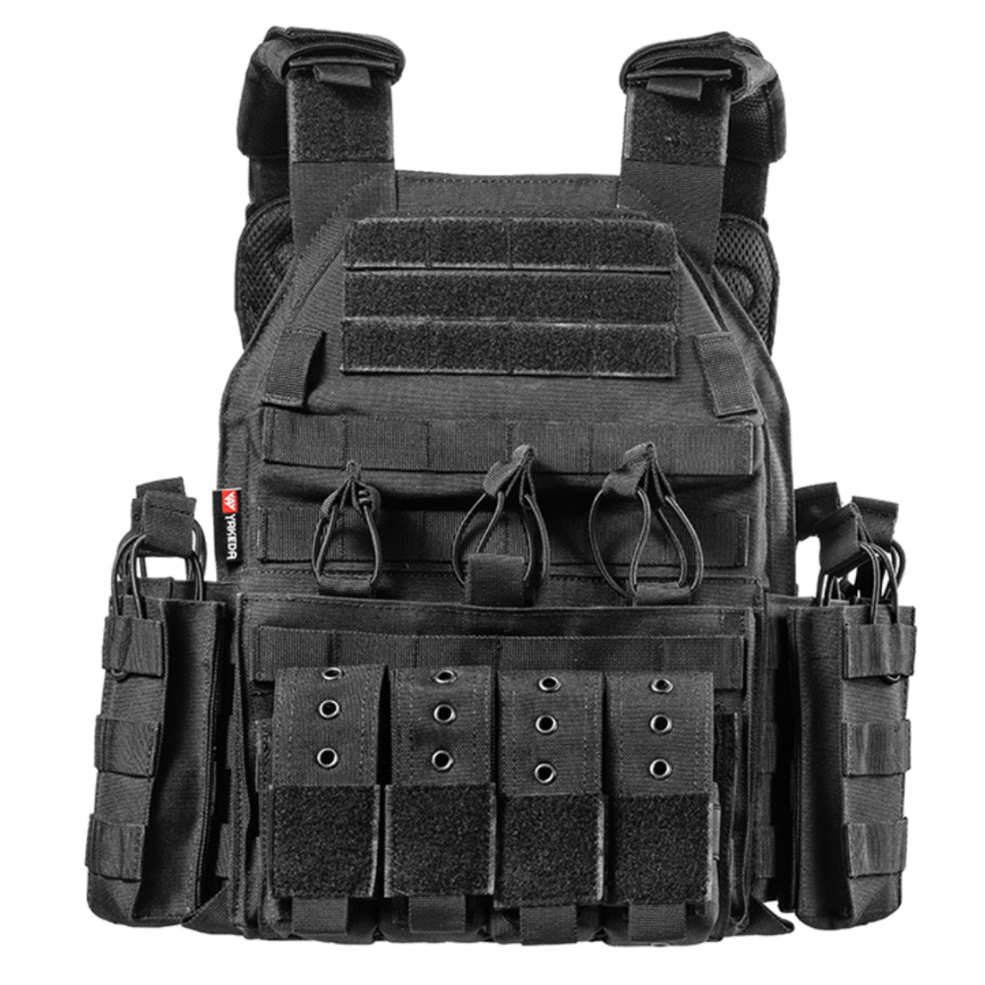 YAKEDA Plate Carrier Tactical Accessories for Men Outdoor Airsoft Body Protective Accessory outdoors tactics accessories Tan