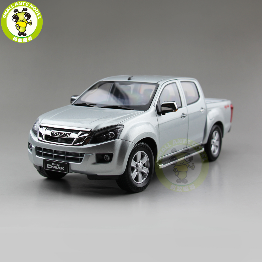 1 18 ISUZU D MAX D MAX Diecast Metal Car Truck Pickup Model toys kids gift