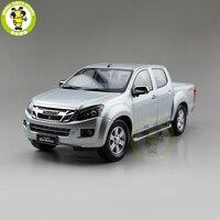 1/18 ISUZU D MAX D MAX Diecast Metal Car Truck Pickup Model toys kids gift