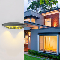 12W Outdoor Wall Lamp Outside Light With LED Aluminum Wall Lamp Waterproof Ip65 Courtyard Villa Wall Lamp