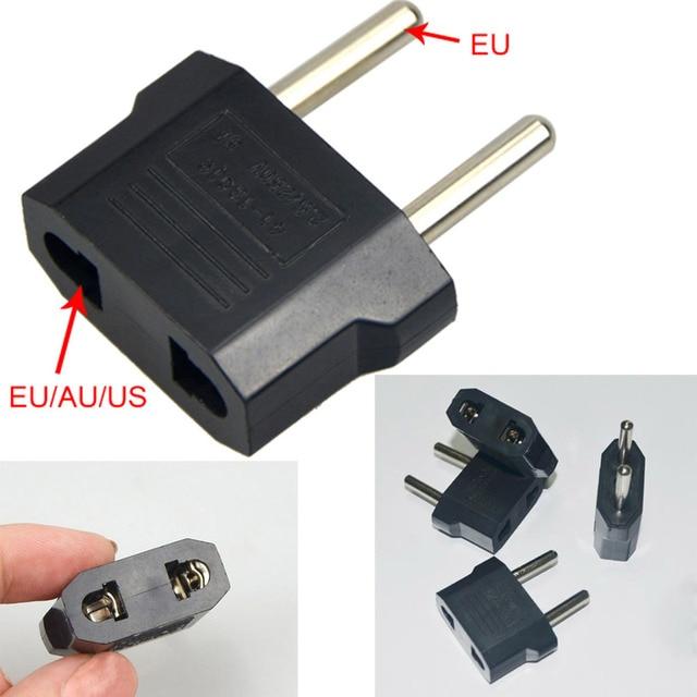 Convertidor de carga Universal hogar de viaje 220 V 2 orificios 5A adaptador de enchufe de doble uso de la UE