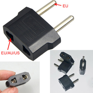 Universal Charging Convertor travel household 220V 2 holes 5A EU dual-use transform plug socket Adapter(China)