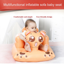 Children Baby Inflatable Sofa Chair Seat Dining Bathroom Learn Sitting Portable YJS Dropship