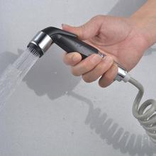 Ручная стирка биде пеленки Туалет Shattaf Опрыскиватель Ванная комната Туалет биде кран гигиенический душ шланг Насадка насадка чистящие средства