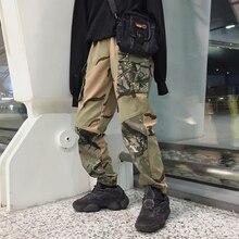 Национальный стиль, мужские высококачественные хлопковые удобные уличные красивые повседневные спортивные камуфляжные брюки большого размера