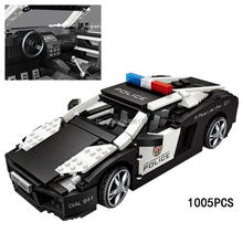 hot LegoINGlys technic creators vehicles Lambor AVENTADOR super sports car micro diamond building blocks model bricks toys gift