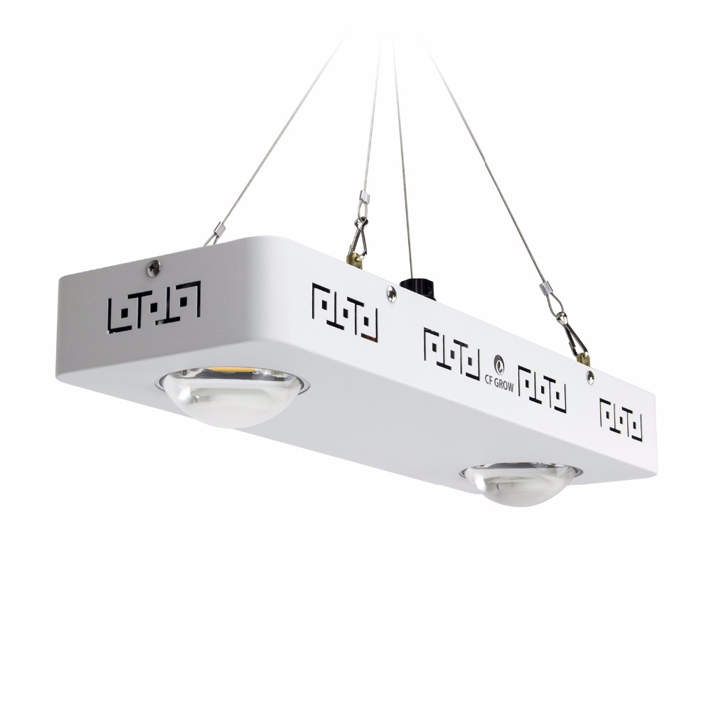 Dimmable Full Spectrum COB LED Grow Light CREE CXB3590 200W 26000LM HPS 400W Growing Lamp Indoor