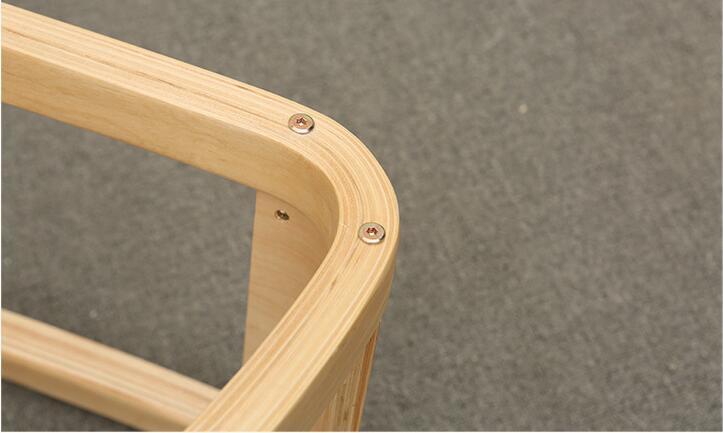 Купить с кэшбэком Original Ergonomic Kneeling Chair Stool Home Office Furniture Ergonomic Rocking Wooden Kneeling Computer Posture Chair Design