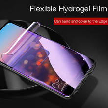 hot deal buy full cover soft hydrogel film on for xiaomi mi 8 8 lite mi8 explorer screen protector for mix 3 mi play redmi 6 pro 6a not glass